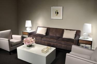 Christies - New York - Interior photo of lounge - Selldorf Architects