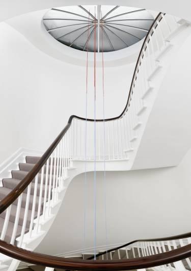 David Zwirner London - London - Interior photo of staircase - Selldorf Architects