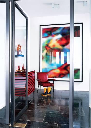 Richmond Townhouse - London - Interior photo of entry - Selldorf Architects