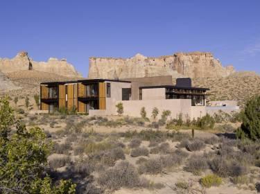The Mesa at Amangiri - Utah - Exterior photo of building - Selldorf Architects