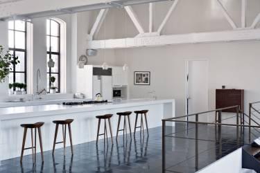Chelsea Loft 23rd Street - New York - Interior photo of kitchen - Selldorf Architects