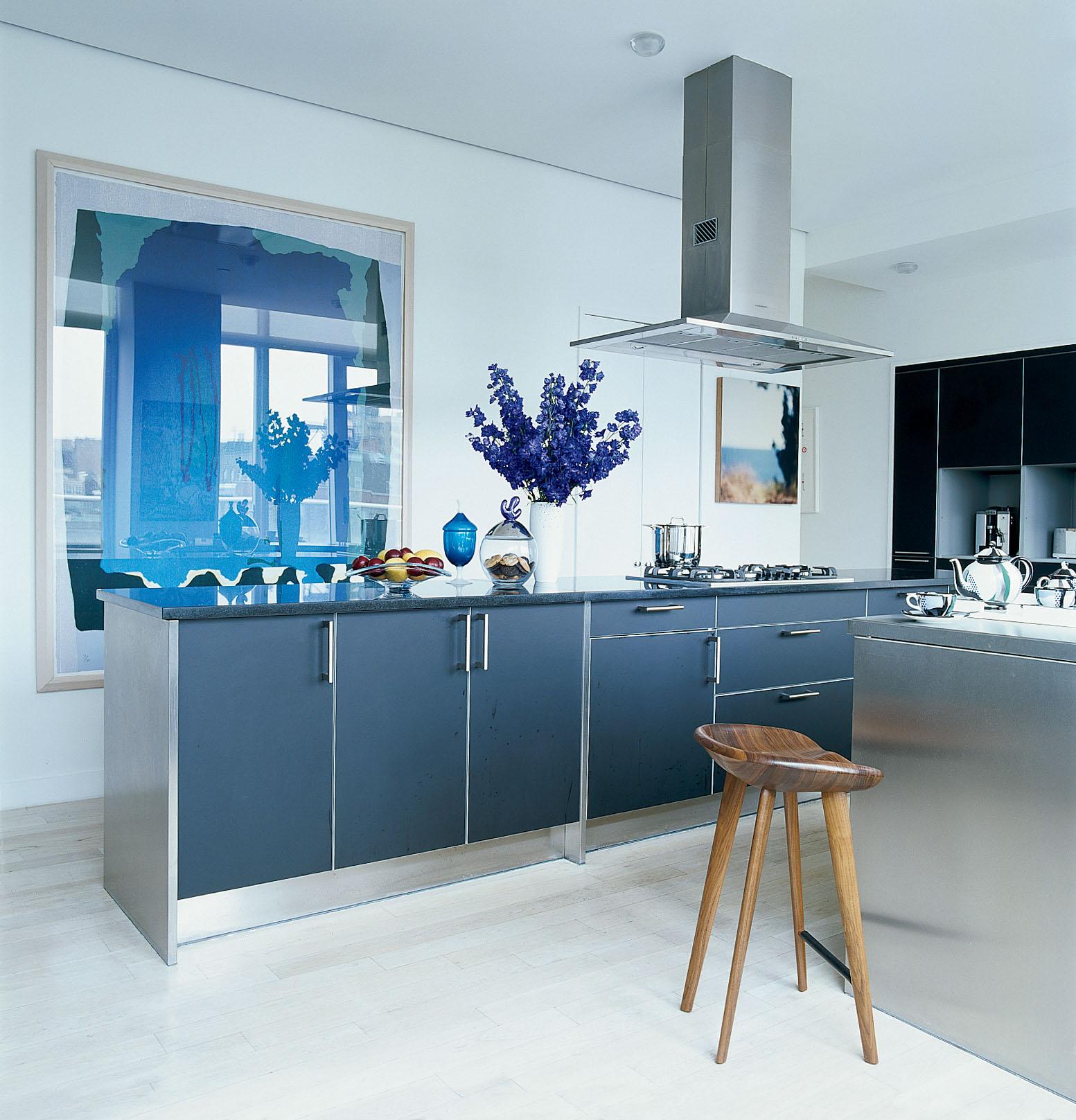 Kitchen Art Nyc: Loft At Urban Glass House