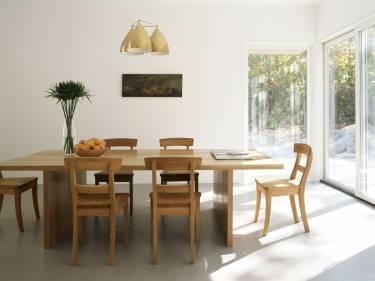 Sag Harbor House - Long Island - Interior photo of dining room - Selldorf Architects