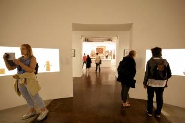 Venice Biennale - Venice - Interior photo of gallery space - Selldorf Architects