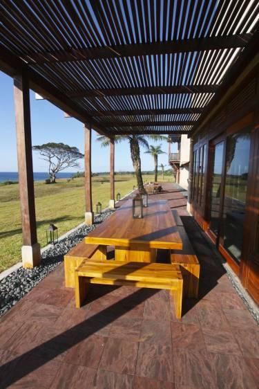 Ama Estancia - Pedasi, Panama - Exterior photo of patio - Selldorf Architects