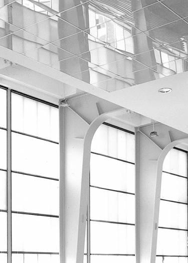 Hauser & Wirth Zurich - Zurich - Interior close up of window detail - Selldorf Architects