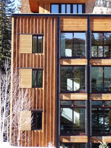Pika House - Colorado - Exterior photo of house - Selldorf Architects