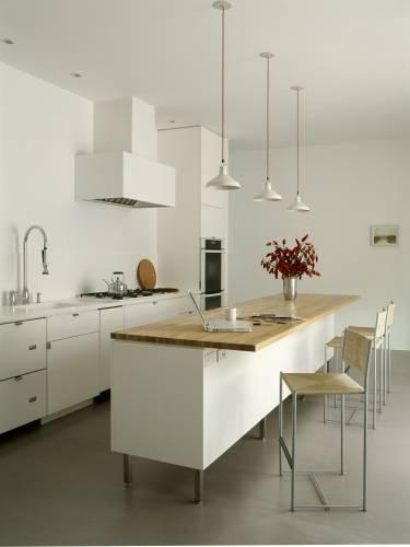 Sag Harbor House - Long Island - Interior photo of kitchen - Selldorf Architects