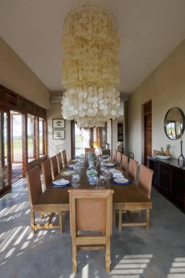 Ama Estancia - Pedasi, Panama - Interior photo of dining room- Selldorf Architects