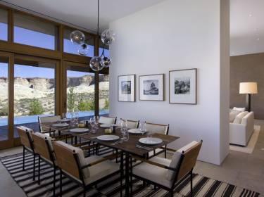 The Mesa at Amangiri - Utah - Interior photo of dining room - Selldorf Architects