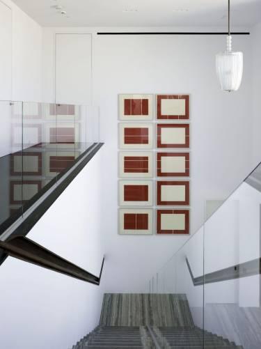 Sagaponack House  - Long Island - Interior photo of staircase - Selldorf Architects