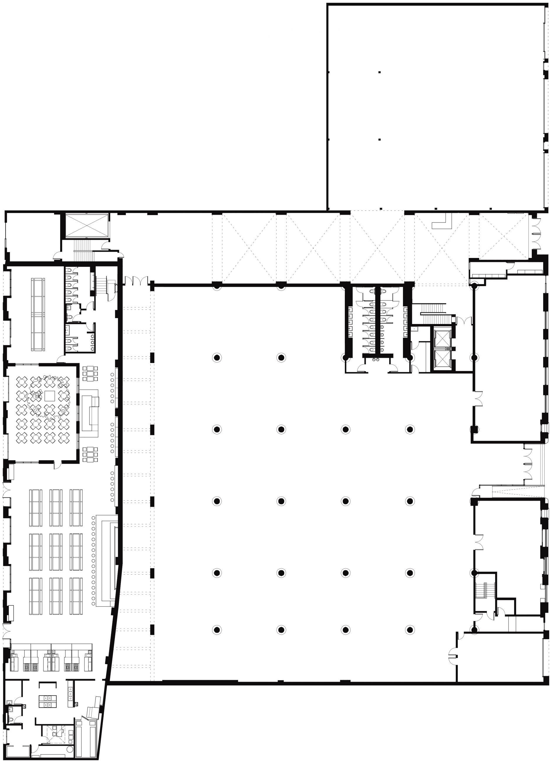 1000 Dean Street and Berg'n Ground Floor Plan