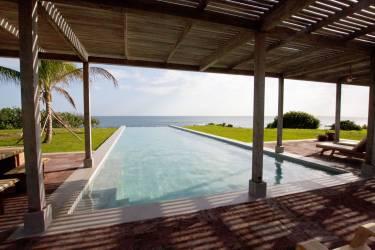 Ama Estancia - Pedasi, Panama - Exterior photo of pool - Selldorf Architects