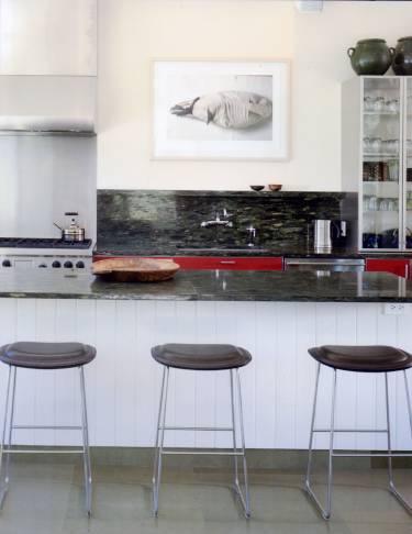 Pika House - Colorado - Interior photo of kitchen - Selldorf Architects