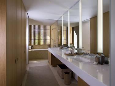 The Mesa at Amangiri - Utah - Interior photo of bathroom - Selldorf Architects
