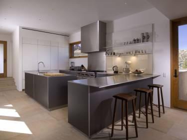 The Mesa at Amangiri - Utah - Interior photo of kitchen - Selldorf Architects