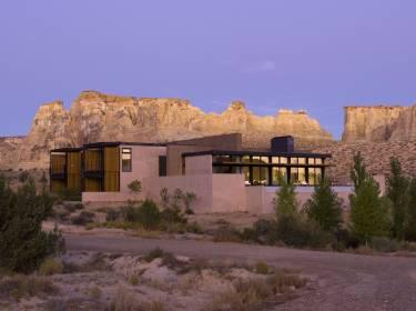 The Mesa at Amangiri - Utah - Exterior photo of villa - Selldorf Architects