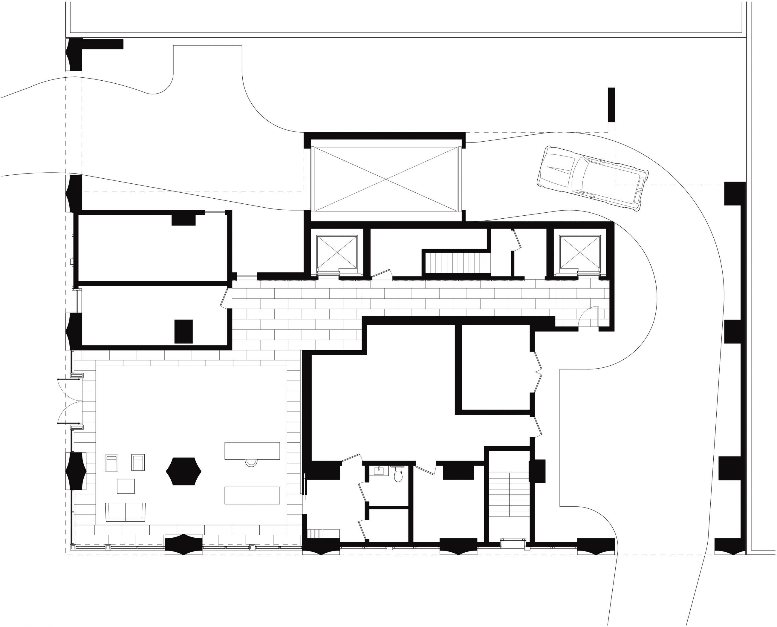 200 Eleventh Avenue Ground Floor Plan