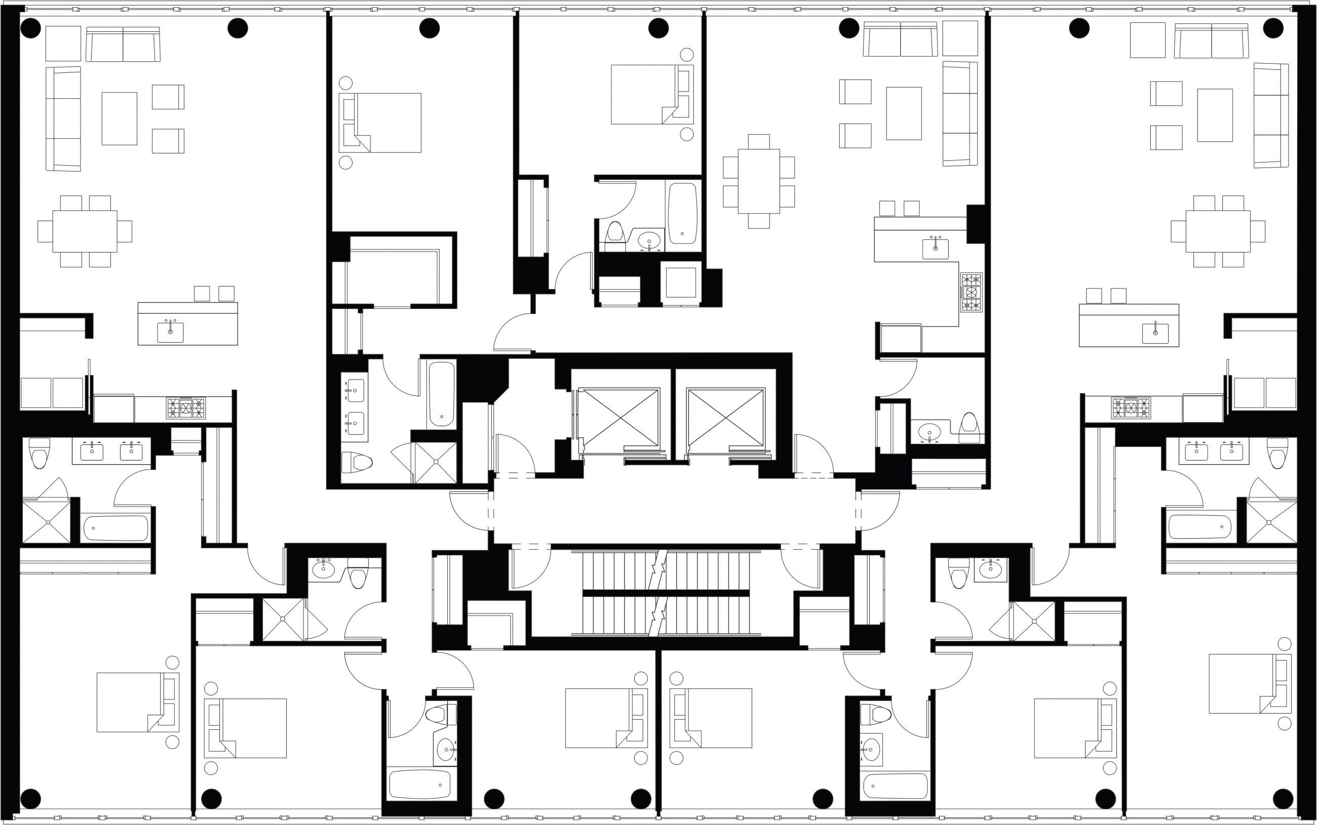 520 West Chelsea Typical Floor Plan