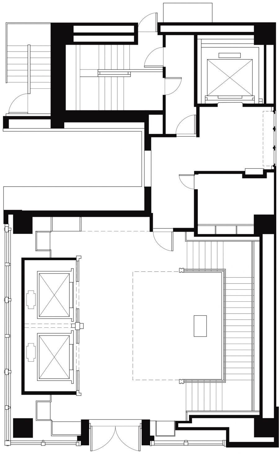 Abercrombie & Fitch Tokyo Ground Floor Plan