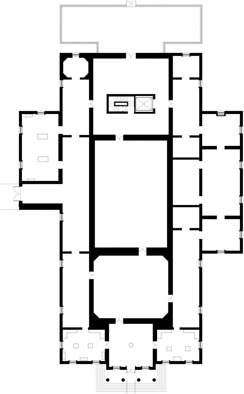 Clark Art Institute Ground Floor Plan