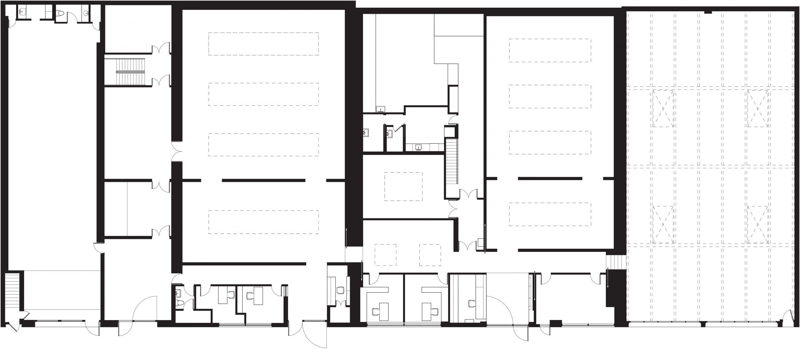 David Zwirner 19th Street 1st Floor Plan