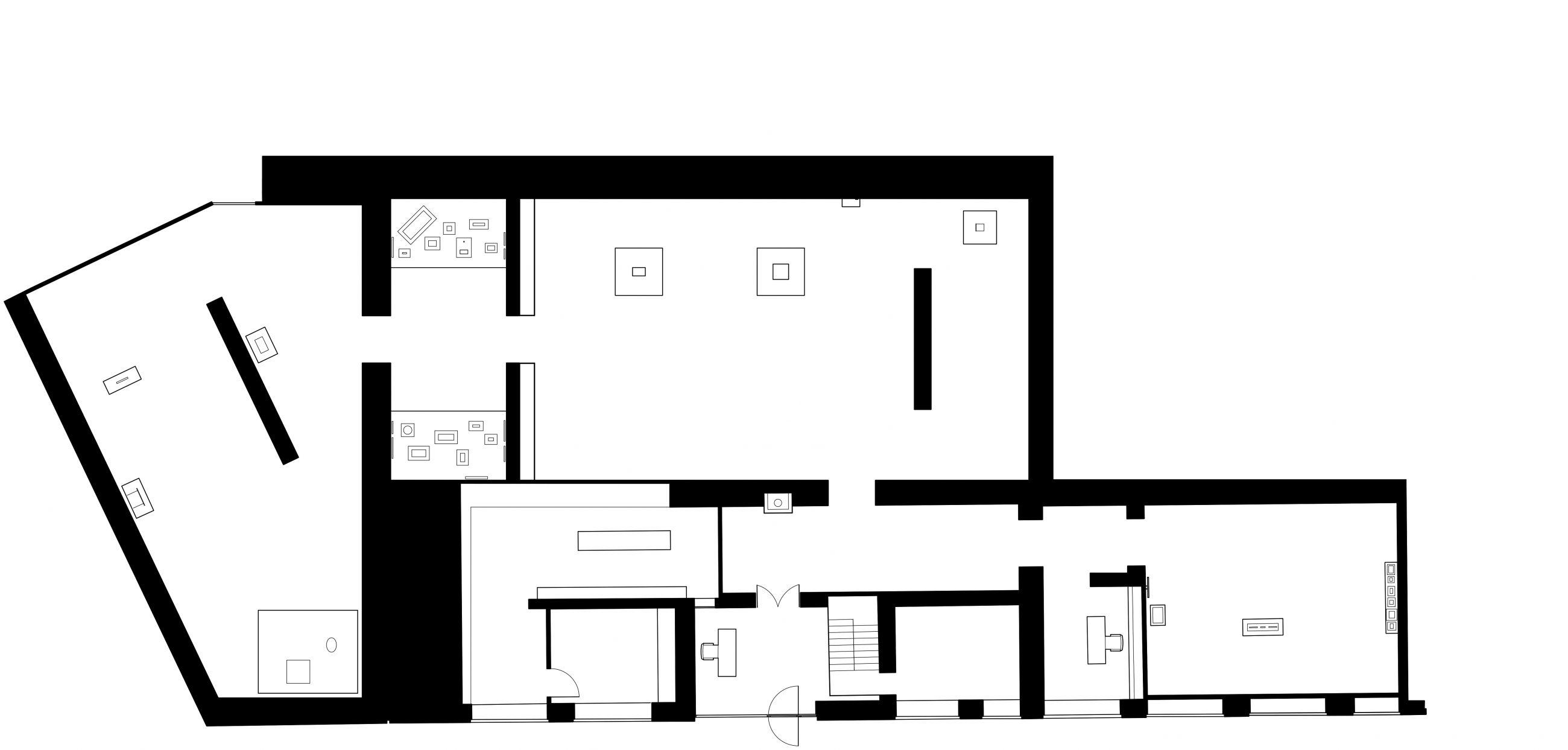Gagosian Gallery London Ground Floor Plan