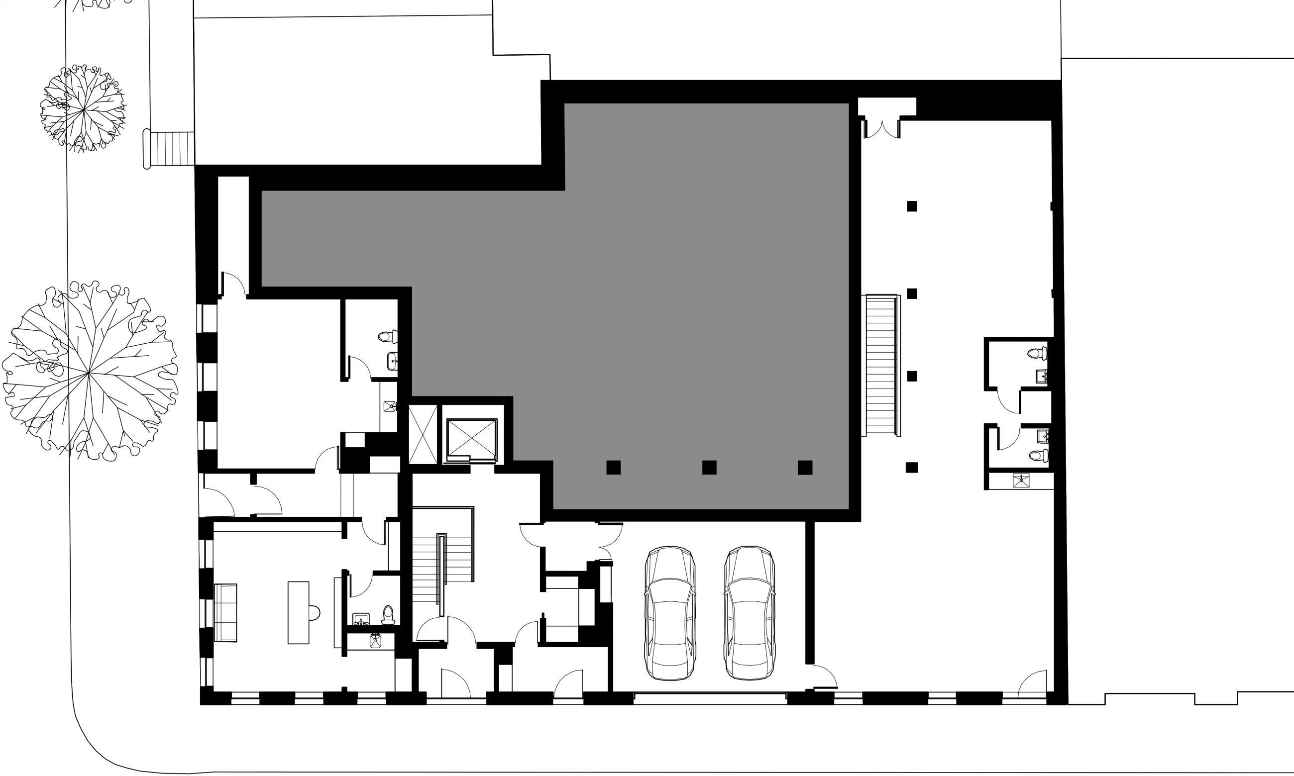 West Village Residence 1st Floor Plan