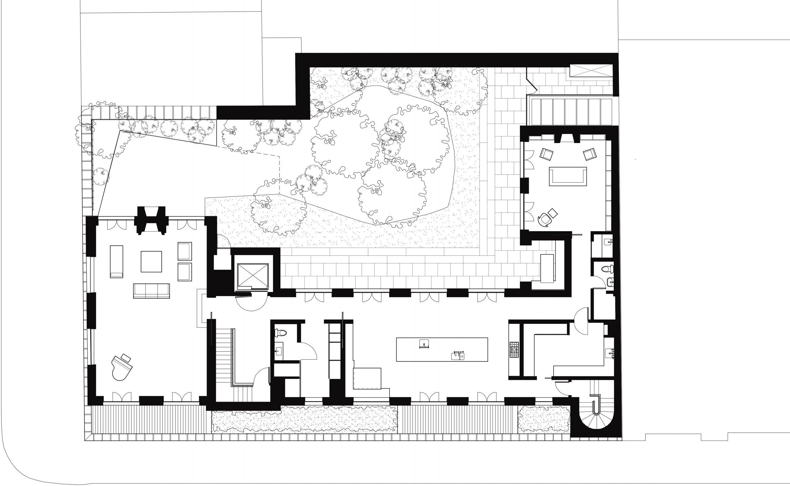 West Village Residence 2nd Floor Plan