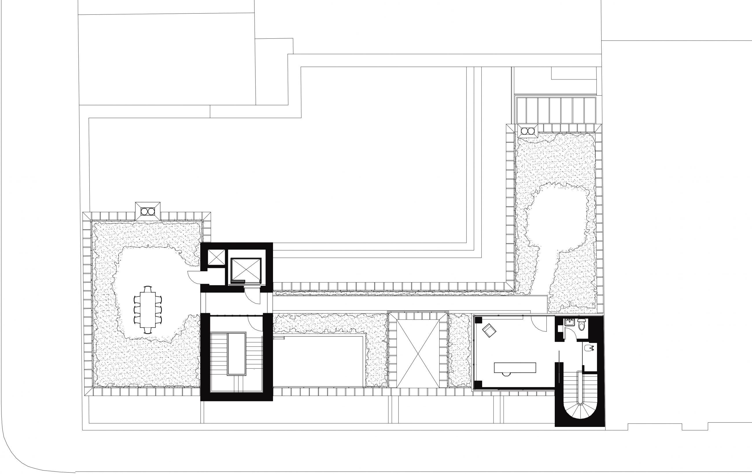 West Village Residence 4th Floor Plan