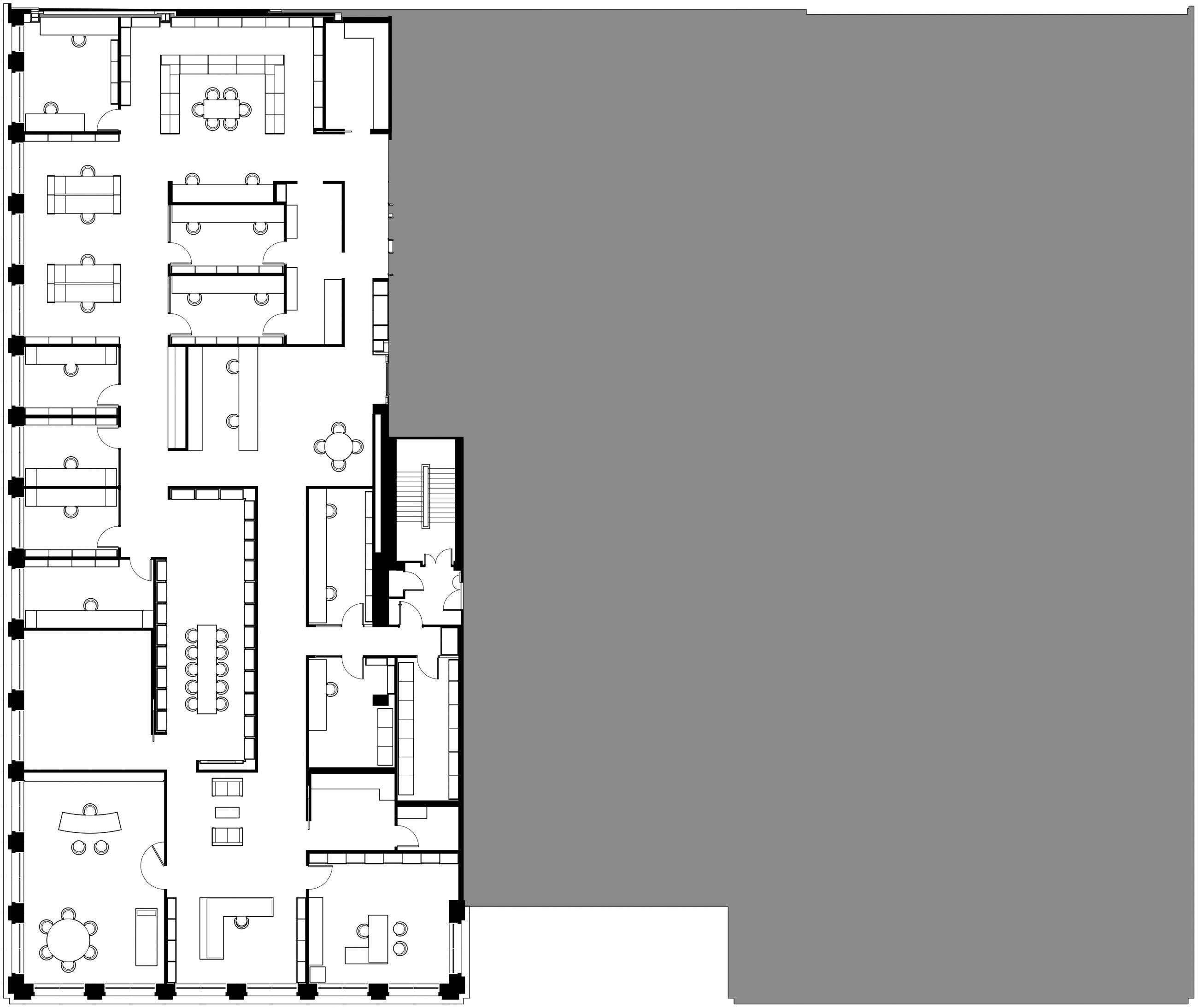 Hauser & Wirth Savile Row 2nd Floor Plan