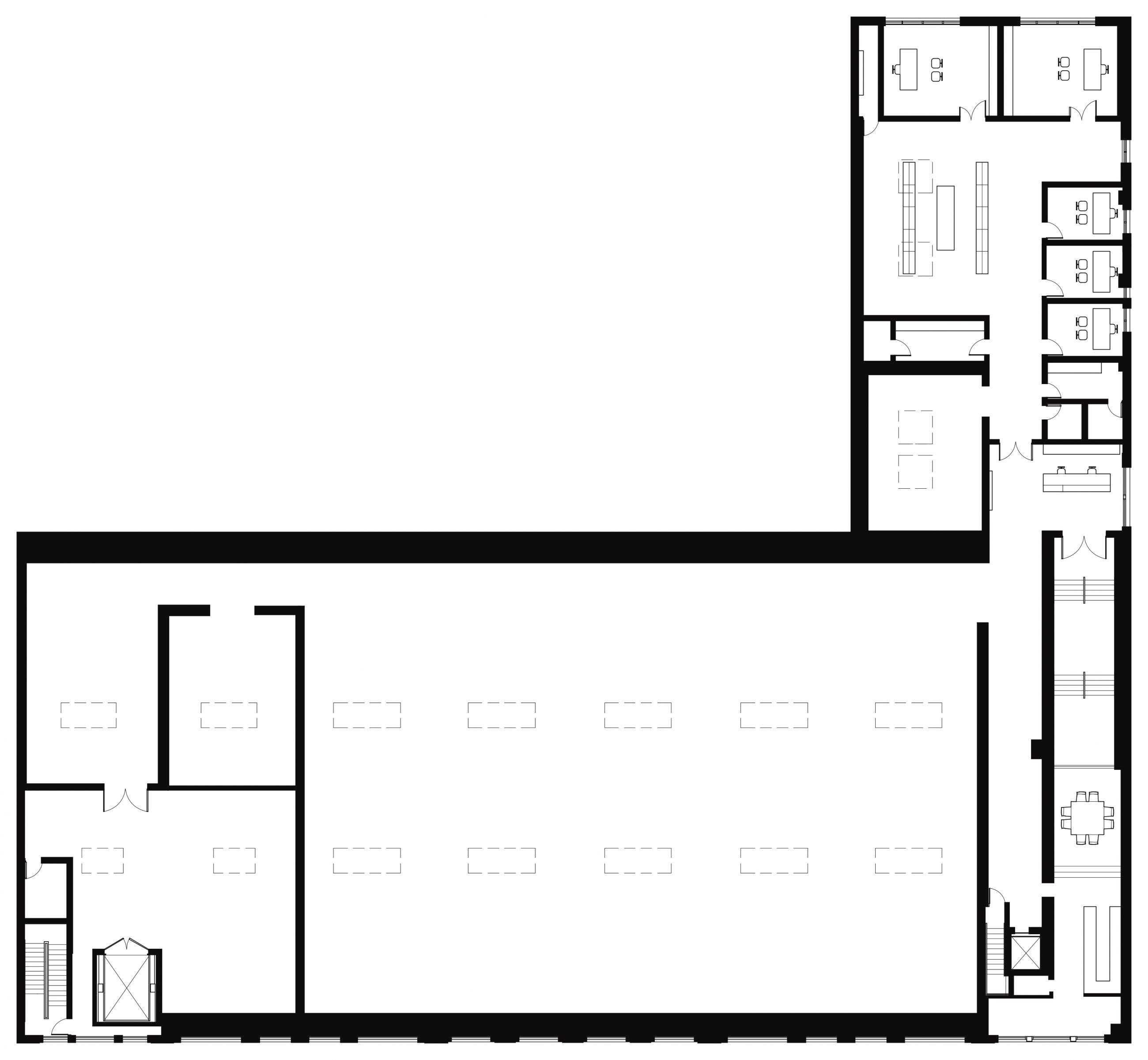Hauser & Wirth 18th Street Plan