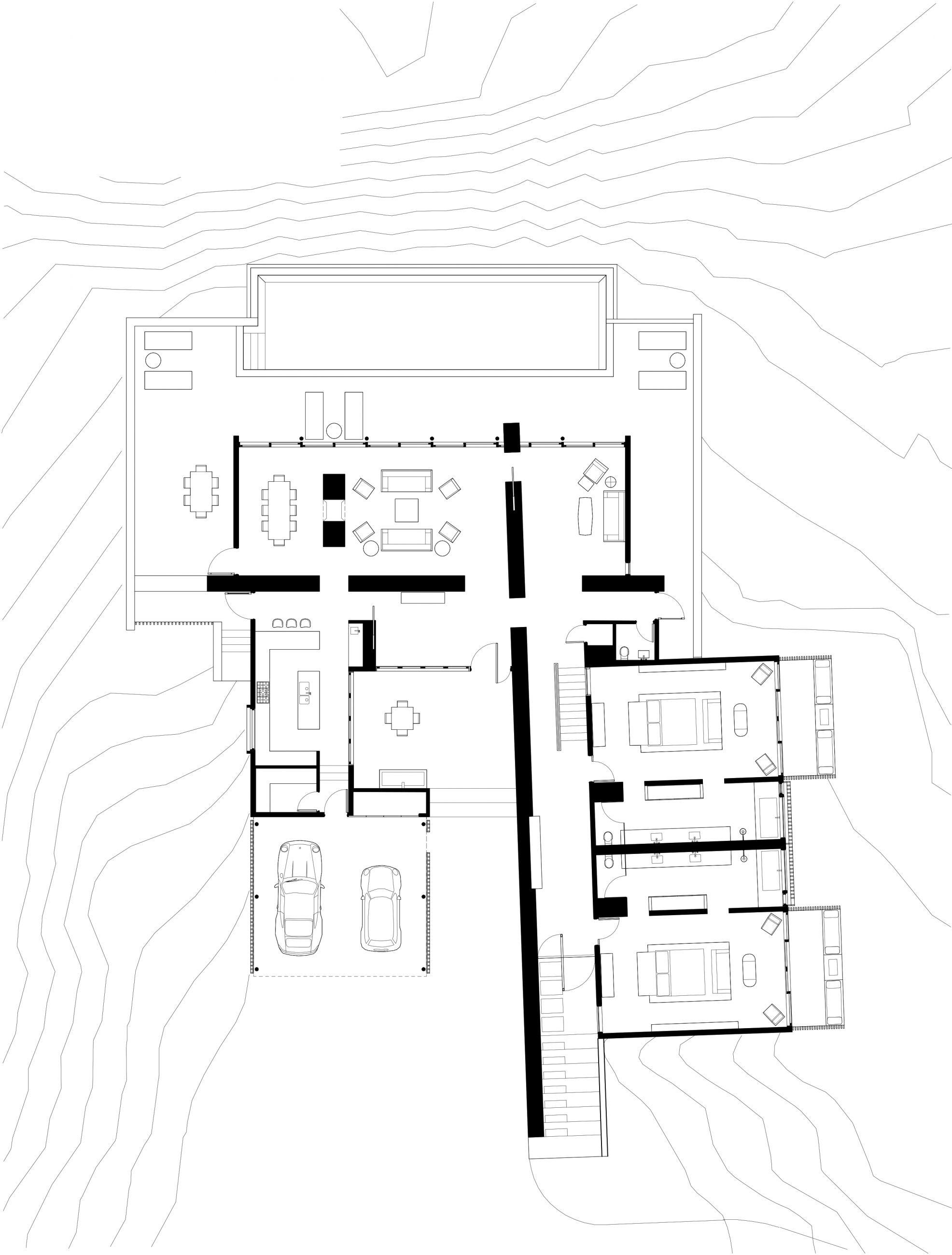 Mesa at Amangiri 1st Floor Plan