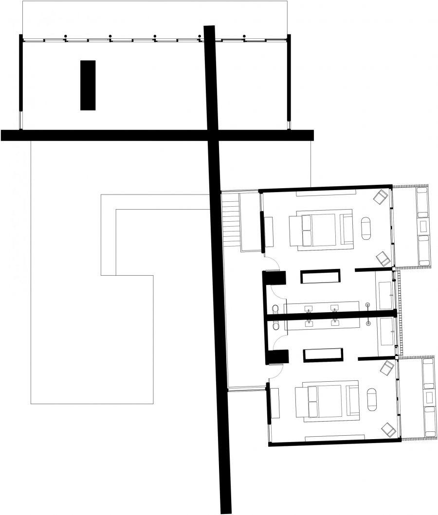 Mesa at Amangiri 2nd Floor Plan