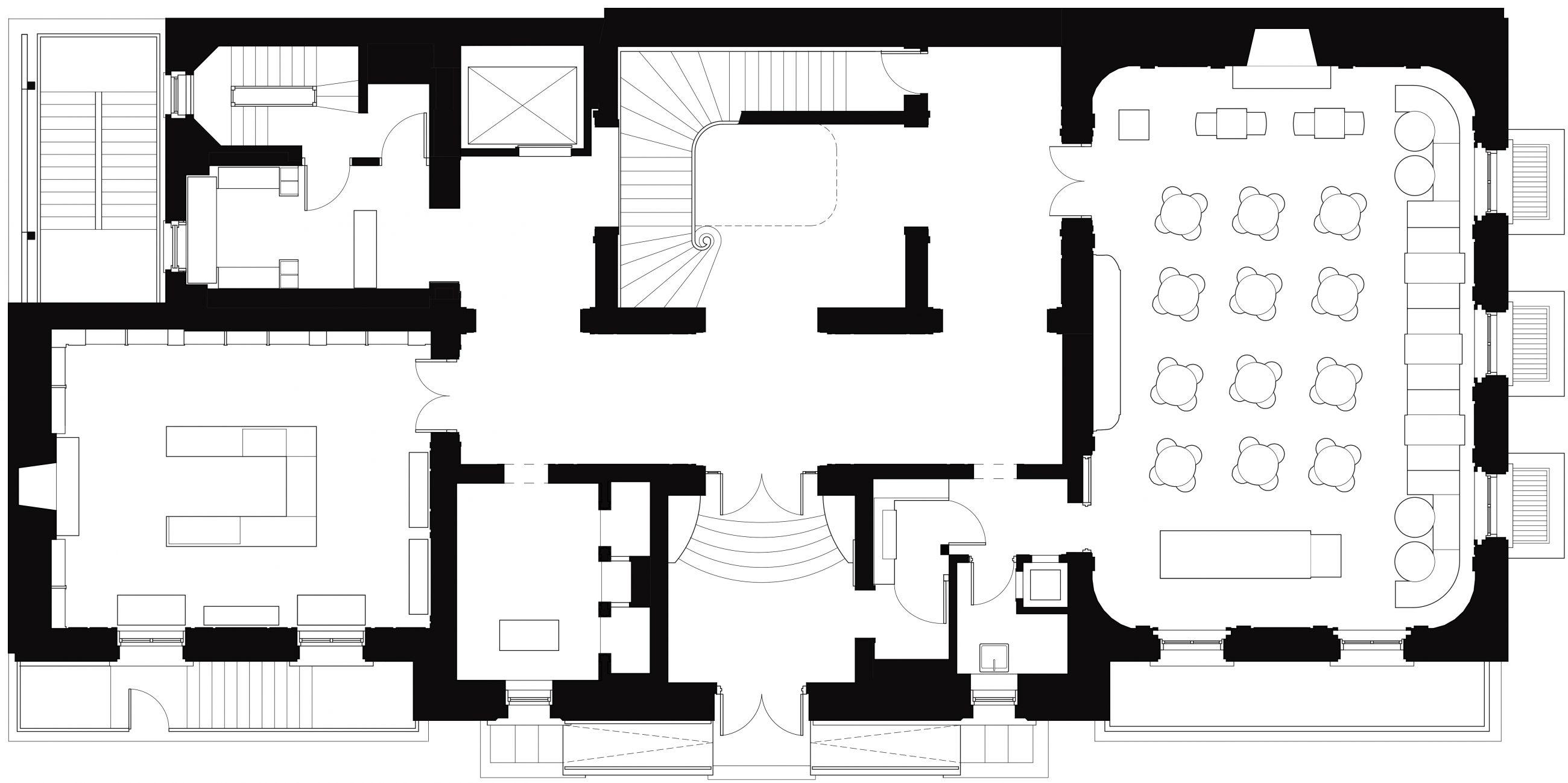 Neue Galerie 1st Floor Plan