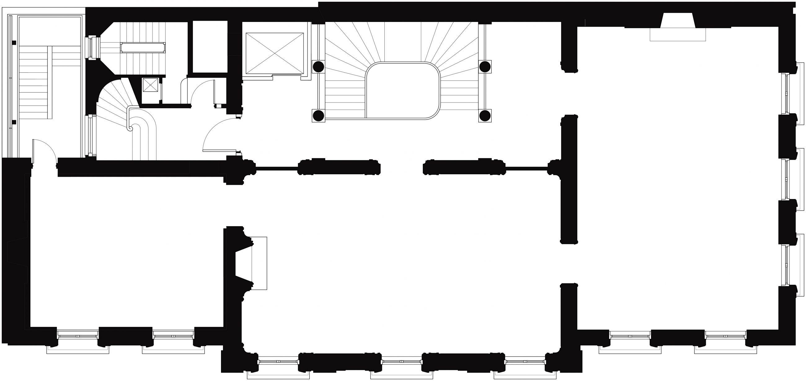 Neue Galerie 2nd Floor Plan
