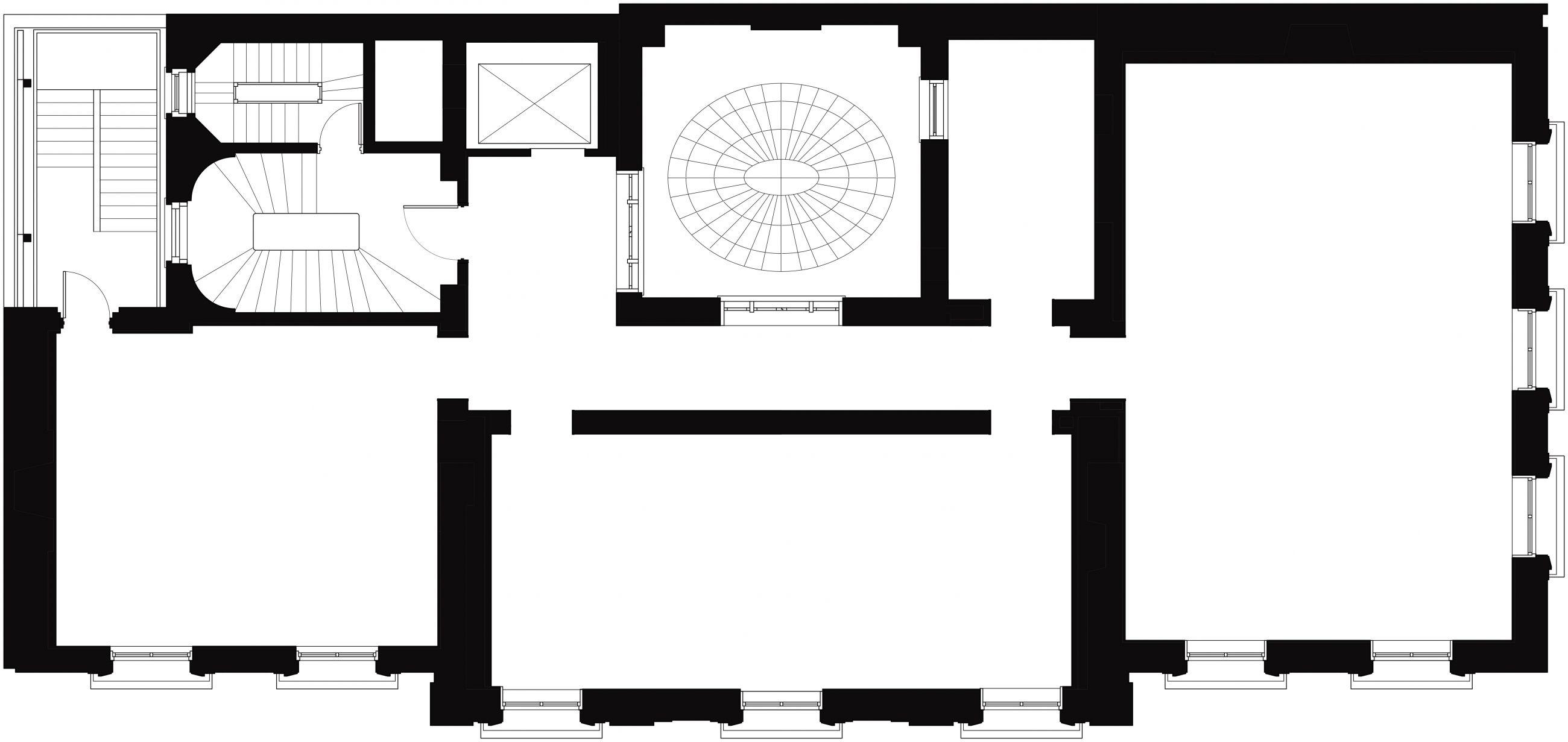 Neue Galerie 3rd Floor Plan