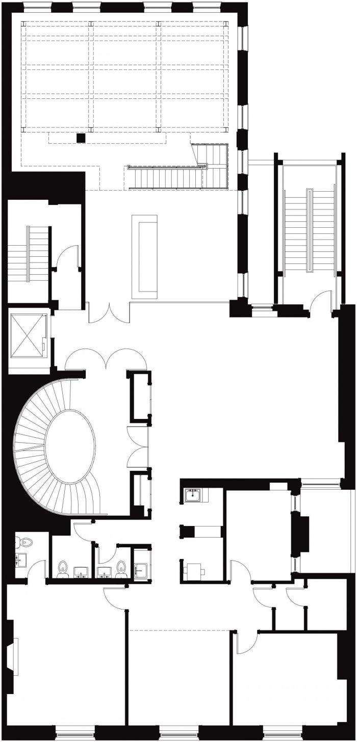 New York University ISAW 3rd Floor Plan