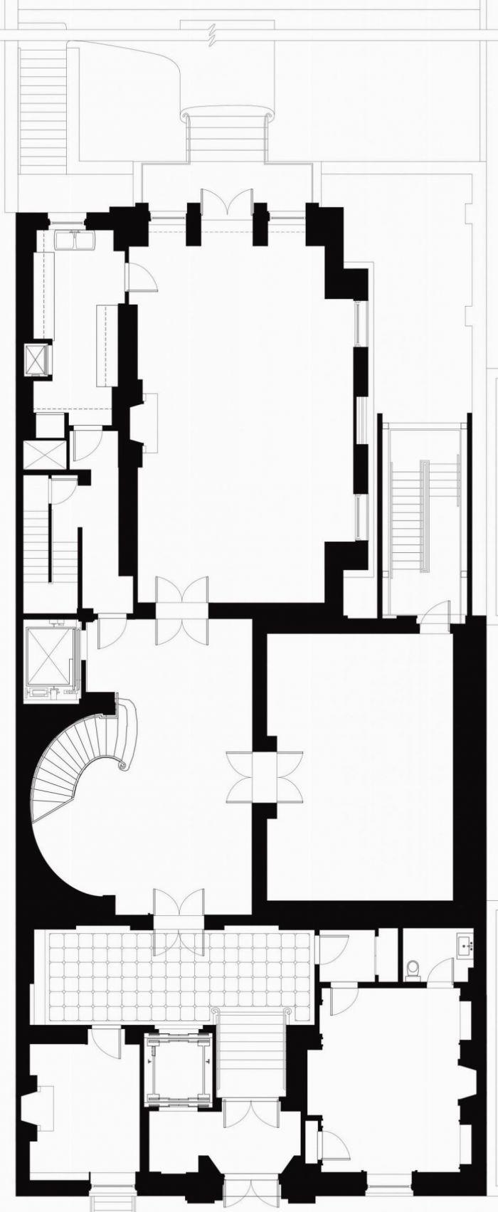 New York University ISAW Ground Floor Plan