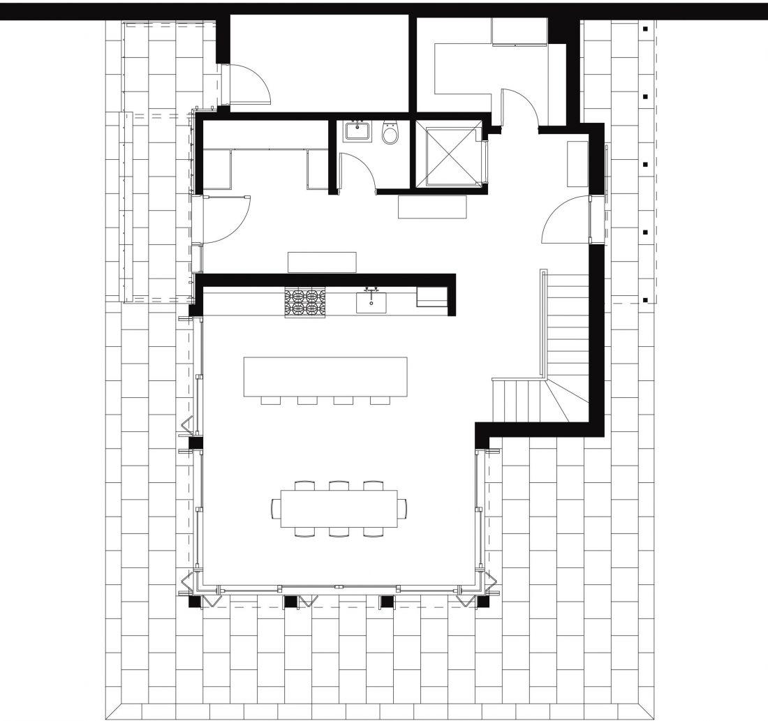 Piks House Ground Floor Plan