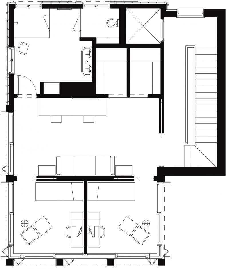 Pika House 3rd Floor Plan