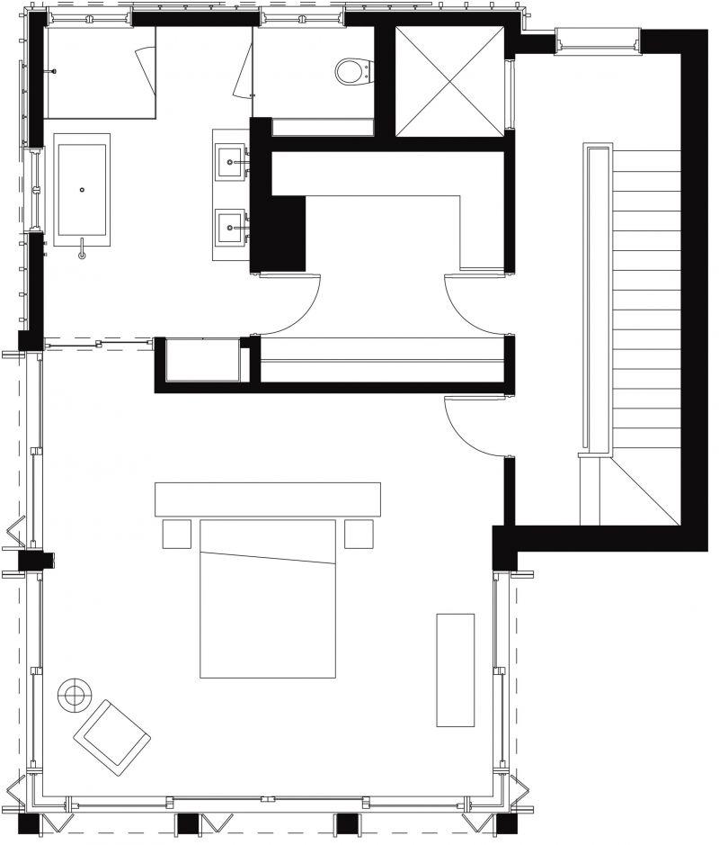 Pika House 4th Floor Plan
