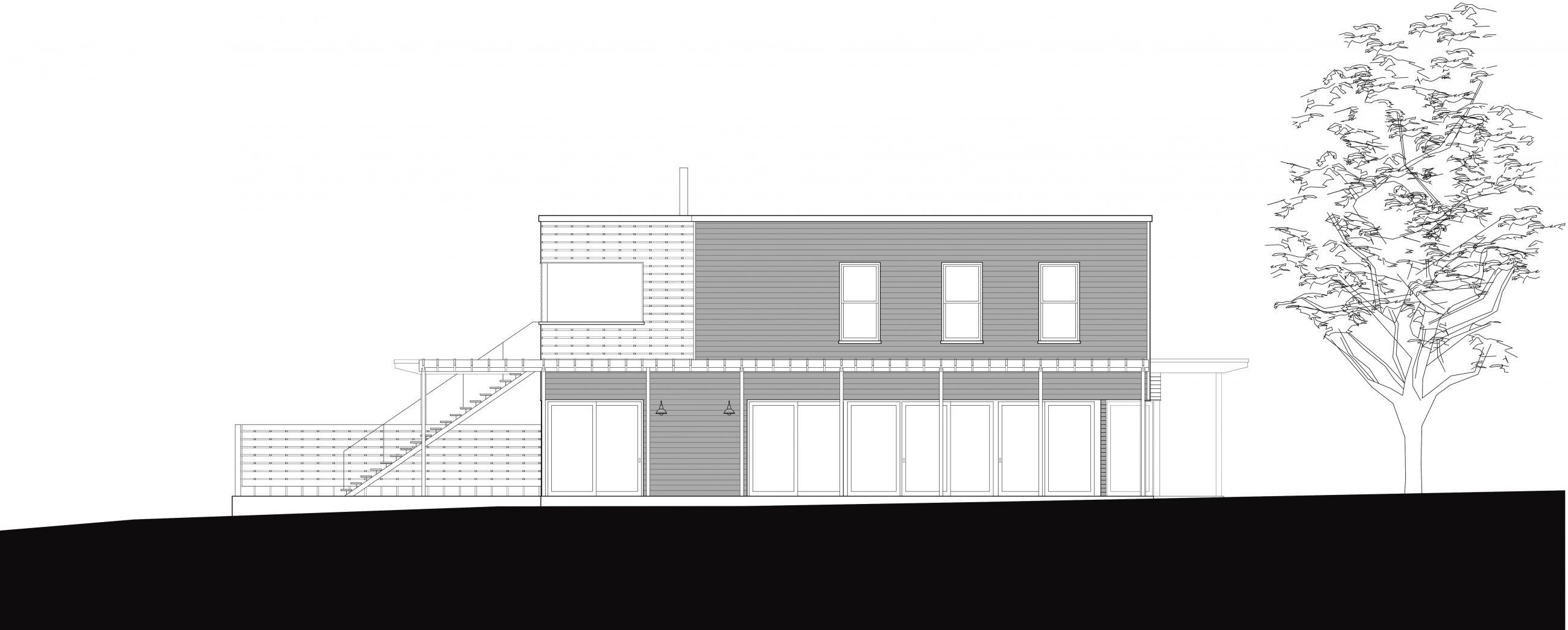 Sag Harbor House Elevation