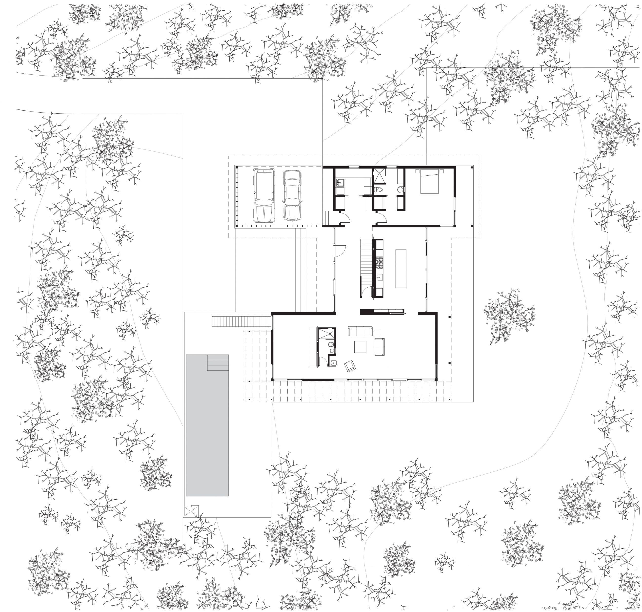 Sag Harbor House Site Plan