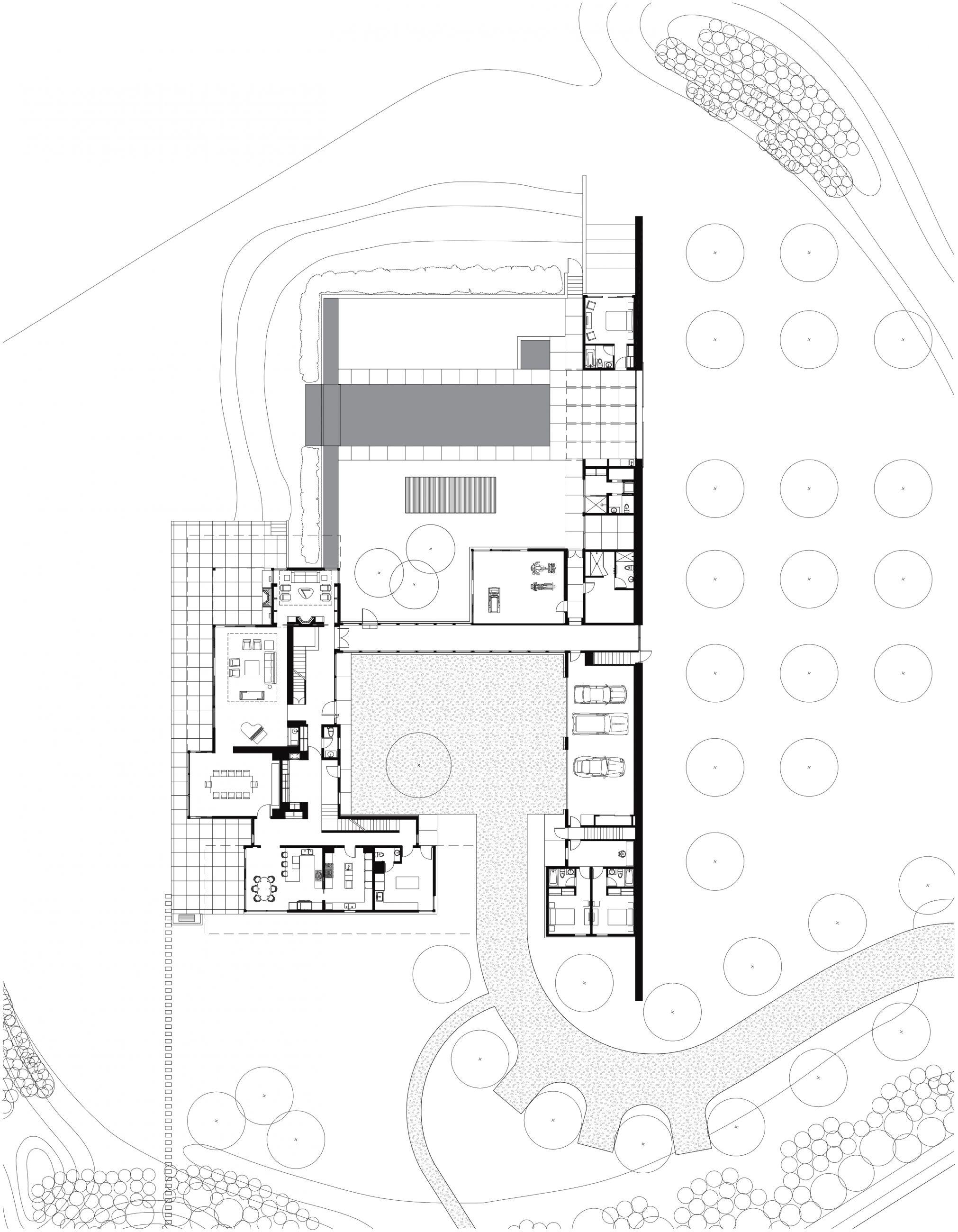 Saganoack House Site Plan