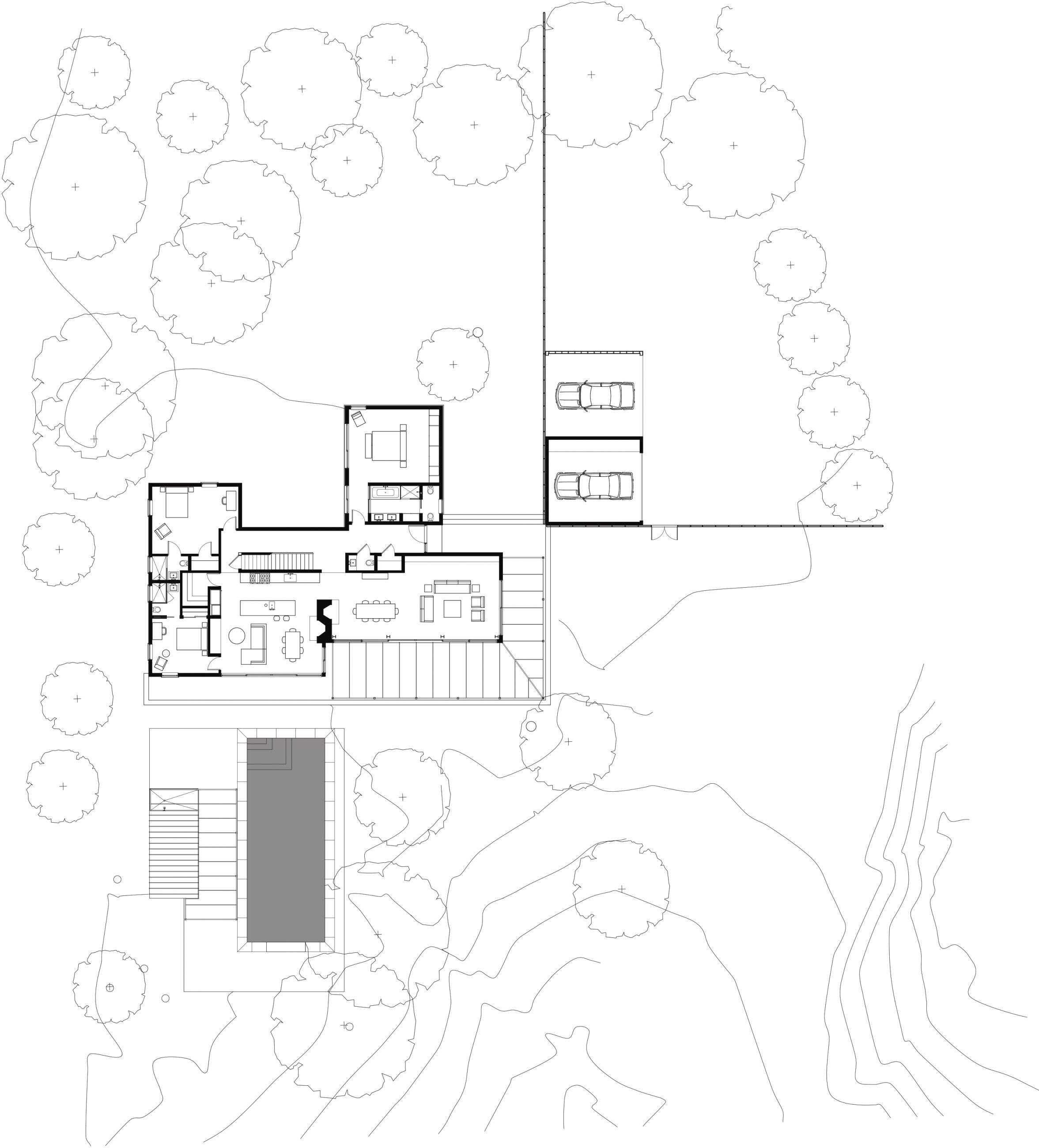Wainscott House Site Plan