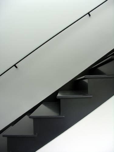 Sag Harbor House - Long Island - Interior close up of staircase - Selldorf Architects