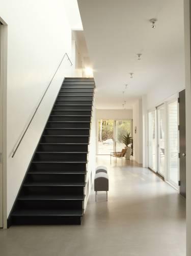 Sag Harbor House - Long Island - Interior photo of staircase - Selldorf Architects