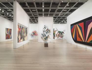 Frank Stella: A Retrospective, Selldorf Architects