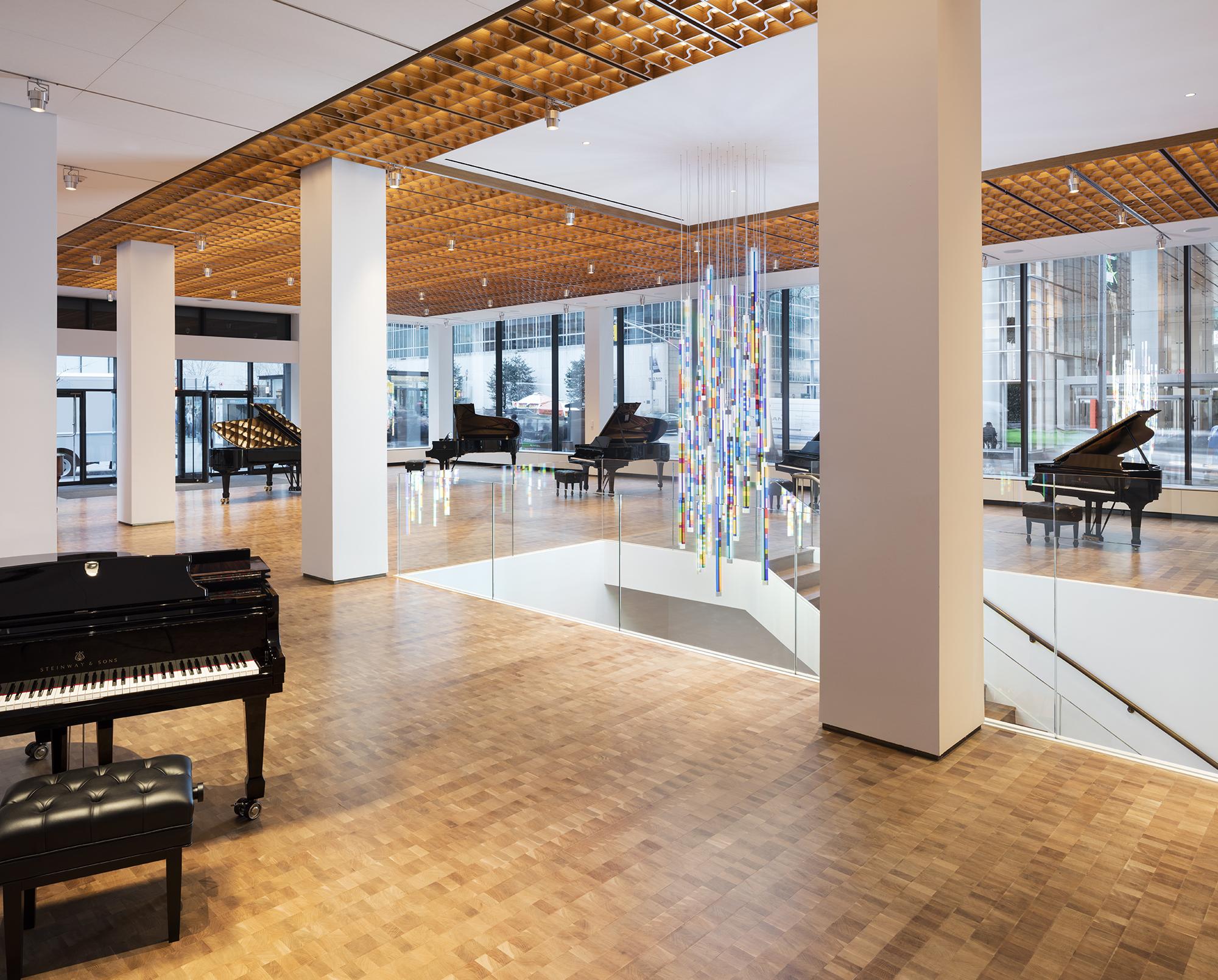 Steinway hall selldorf architects new york - The showroom hamburg ...